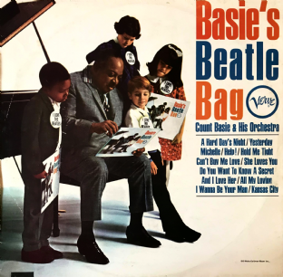 Count Basie And His Orchestra ‎- Basie's Beatle Bag  (LP) (VG/G++)